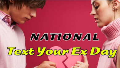National Text Your Ex Day 2020, New Texts Ideas, Activities